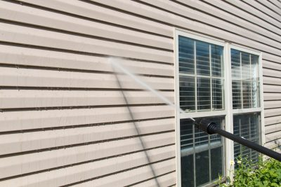 power washing vinyl siding